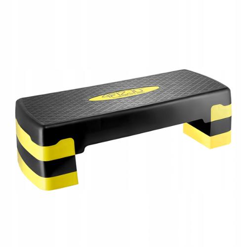 Stepper do ćwiczeń fitness 4Fizjo - tradycyjny schodek